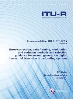 DTMB-A is adopted as 2nd-Gen DTV Internatioanl Standard by ITU